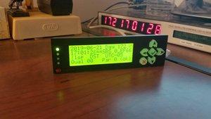 CFA635 Display Showing IRIG-B